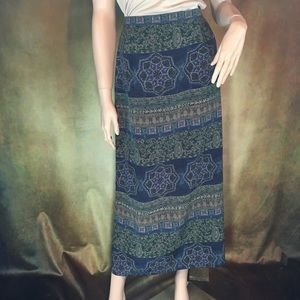 Wrinkle free skirt